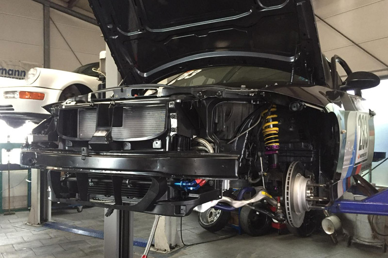 BMW M3 E46 Umbau Rennfahrzeug für die RCN 2015