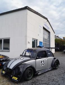 Werkstatt und Geschäftstelle Barweiler, direkt am Nürburgring