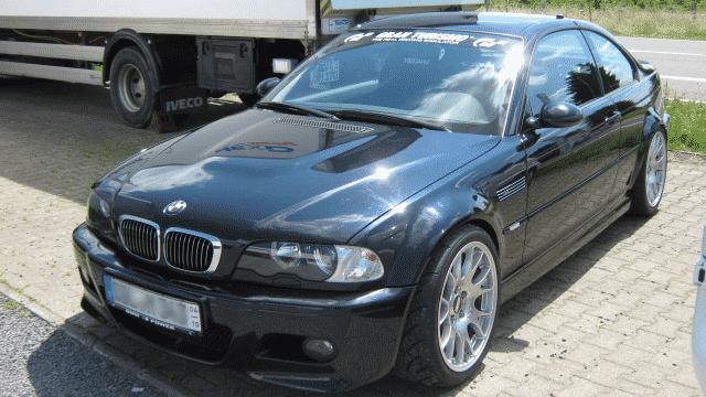 Umbau eines BMW M3, E46 für den Straßeneinsatz